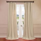 Found it at Wayfair - Zeus Jacquard Curtain Single Panel
