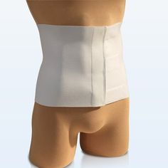 NY Ortho Tapered Abdominal Binder in White Size: Small: 6' H x 24' - 30' W ** More info could be found at the image url.