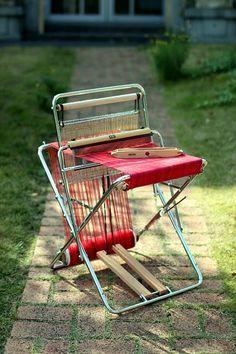 I lovethe lookof thisloom. Nowhere there are 1,125 good reasons why I can't own one Saori Santa Cruz - Saori Looms & Equipment