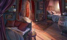 fantasy rooms castle room bedroom background episode backgrounds interior games uploaded user