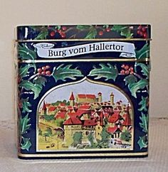 Image detail for -Lambertz German Christmas Cookie Tin Music Box (Tins) at Sue's Antique ...