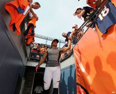 Eric Decker Denver Broncos Players, Go Broncos, Broncos Fans, Football Team, Eric Decker, Wyoming Cowboys, Go Vols, New York Giants, Super Bowl