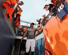 Eric Decker Denver Broncos Players, Go Broncos, Broncos Fans, Football Team, Eric Decker, Go Vols, Wyoming Cowboys, New York Giants, Super Bowl