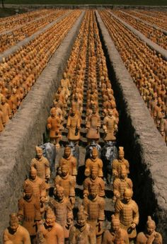 China, Terracotta Warriors