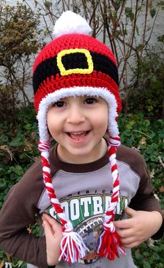Santa Hat Crochet Pattern | Red Heart