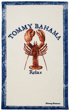 Tommy Bahama Beach Towel, Relax Lobster