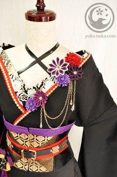 服制作/Creations | Yuka's creation blog Kimono Fashion, Lolita Fashion, Oriental Dress, Lolita Cosplay, Figure Skating Dresses, Fantasy Costumes, Kimono Dress, Character Outfits, Japan Fashion