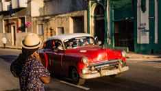 Why should you visit Havana, Cuba? From it's beautiful colonial architecture to the classic American cars, Cuba has a lot to offer the most curious traveler. Let's explore this beautiful old town in all its Caribbean splendor! Visit Cuba, Colonial Architecture, Havana Cuba, Old Town, Cowboy Hats, Caribbean, Travel Photography, Antique, American