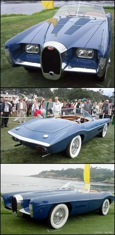 1966 Exner Bugatti Roadster..Re-pin brought to you by agents of #Carinsurance at #HouseofInsurance in Eugene, Oregon