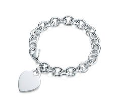 My sisters and I all got this Tiffany bracelet with our initials engraved on it before we started highschool...can't wait to continue the tradition with Mary :) I wear mine almost every day!