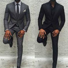 s fashion, classic mens fashion, mens suits Black Mens Fashion Suits, Grey Suit Men, Black Suits, Suit Fashion, Mens Suits, Charcoal Grey Suits, Grey Suit Black Shirt, Fashion Tag, Fashion Guide
