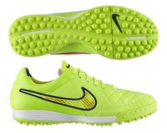 The Nike Tiempo Legacy Soccer Turf Shoes offer the softest leather ...