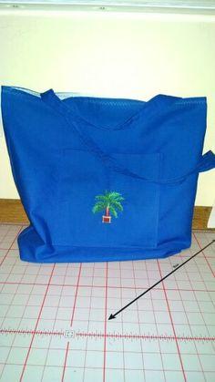 Back of bag for Josh