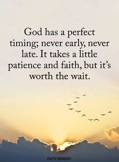 I absolutely love this! The wait is hard, but the reward is so sweet! I'm waiting on things for myself.and on things for others! I wait because I firmly believe that we shall receive! Religious Quotes, Spiritual Quotes, Faith Quotes, Bible Quotes, Qoutes, Images Bible, Praise God, Spiritual Inspiration, Quotes About God