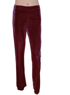 """Luxuriously soft high quality poly/spandex stretch velvet fabric;cut in shoulders; Flat elastic wide waistband     High quality construction; Made in the USA providing jobs for american workers      please order size according to bust measurement; Small -32-33"""" Medium 34-35"""" Large 36-37"""" X-Large 38-39"""" XX-Large 40-41""""      Super easy care, machine wash tumble dry low heat 