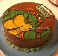 Coolest Teenage Mutant Ninja Turtles Cake photos and tips