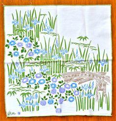 Set of 10 #Vera Neumann Cloth Napkins, Vintage by ScissorsAndSpice, $25.00