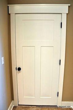 craftsman style interior doors - Google Search