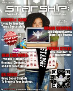 FALL/AUTUMN; 2014 - Our latest issue of STARSH!P: Creation Platform & Mobile E-zine has finally arrived! - http://starshipseraphm.blogspot.com/2014/10/can-you-feel-chill-fall-is-in-air-this.html  Come check us out, STARSH!Ppers (Get the FREE mobile app too)!  #DJ #EDM #music #art #style #food #biz #DIY