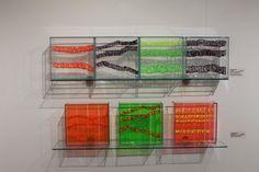 Anna Glasbrook, installation in Riverside Gallery, Devon Guild of Craftsmen. Spring 2015