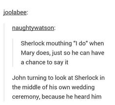I DONT EVEN SHIP JOHNLOCK BUT THIS HURTS MAH FEELS!!! <<<I DO SHIP JOHNLOCK AND ITS SLAUGHTERING MY FEELS