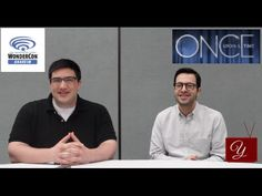 Once Upon A Time - Adam Horowitz & Edward Kitsis Interview from WonderCon Anaheim 2014 - yael.tv
