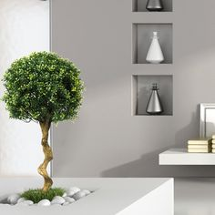 Pianta artificiale di bosso - Complementi arredo e design - Dmail