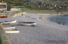 The Cove on chesil beach, Portland.