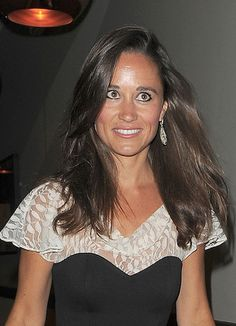 Pippa Middletons long straight hairstyle. YESSSSSSSS, straight-haired brunettes ROCK...not that I know about that