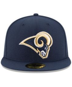 New Era Los Angeles Rams Team Basic 59FIFTY Fitted Cap - Navy/Navy 7 3/8