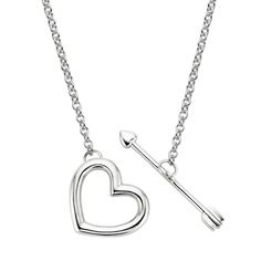 Corazón Pendant in Silver  #necklace #heart