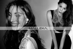 Model wearing , brass jewellery by 'Malleka' find us on www.facebook.com/mallekastudio