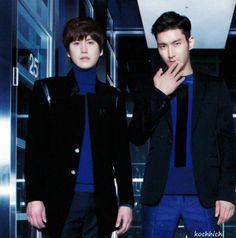 Kyuhyun and Siwon - Blue World photo book