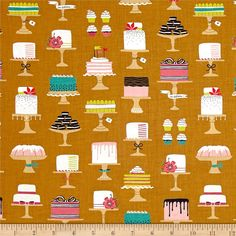 Step into Bake Shop, where you can taste the sugar in the air and you are surrounded by beautiful confections! Designed by Patty Solinger for Michael Miller Fabrics, this cotton print collection features charming baked goods and coordinating prints, from macarons to donuts! From shop fronts, to receipts, spools of thread, and windowpanes. Perfect for quilting, apparel, and home decor accents. Colors include shades of brown, white, pink, teal, navy, mustard, and white.