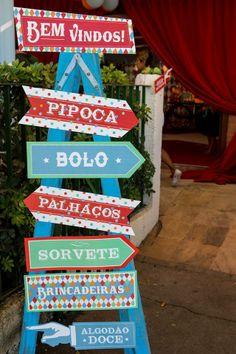 Patricia Vaks Decoração de Eventos | Circo do Rafael