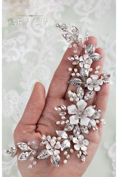 d38782a9a Bridal Headpieces Wedding Hair Accessories and Jewelry, Bridesmaid Gifts by  TopGracia