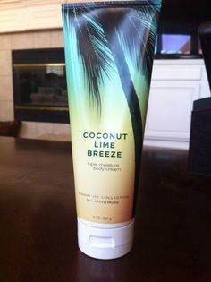Bath and Body Works Coconut Lime Breeze body cream - Amazing smell, super soft skin!