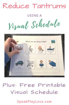 Try using a visual schedule to reduce tantrums. Toddler daily schedule free prin… Try using a visual schedule to reduce tantrums. Preschool daily schedule for home. Visual Schedule Printable, Visual Schedule Preschool, Visual Schedule Autism, Daily Schedule Kids, Daily Routine Activities, Visual Schedules, Free Printable, Daily Routines, Daily Schedules