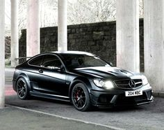 Here is the new Mercedes-Benz C-Class. The C63 AMG Black Series is a 510 hp track machine with a dark side.