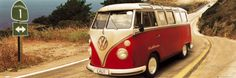 Camper VW, Route One Poster su AllPosters.it