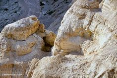 Pictures and text illuminating the caves of Qumran