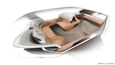 #NIO Eve #conceptcar #sketch by interior designer Ahmad Moslemifar. Design Story this way [members] > https://www.formtrends.com/nio-eve-design-story #concept #car #design #cardesign #vehicledesign #autonomous #cars #transportationdesign #automotivedesign
