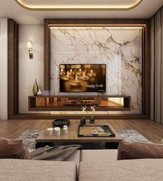 Modern Master Bedroom, Tv In Bedroom, Living Room Modern, Living Room Interior, Living Area, Living Rooms, Small Living, Bedroom Decor, Bedroom Furniture