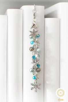 Metall - Lesezeichen ● Winterzauber ● Schneeflocken ♥ - ein Designerstück von SchmettAlinchen bei DaWanda