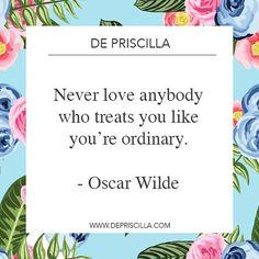 #QuotesWeLove #depriscilla