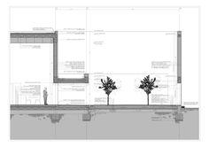 Section Detail - Guerrero House, Alberto Campo Baeza