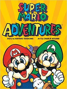 Super Mario Adventures: Kentaro Takemura, Charlie Nozawa: 9781421588643: Amazon.com: Books