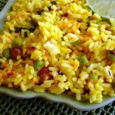 Lemon Rice (Rice Cooker) Recipe