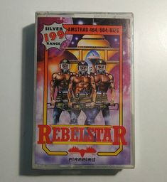 Amstrad: Rebelstar (Sealed)  I guess Julian Gollop liked the idea of continuing making games for these trending computers.  I never played this one but I think this was one of the first to feature 2 players.  I think those muscled men in the cover didn't help in selling the game . Tags:  #retrogaming #retrogames #sinclair #zxspectrum #spectrum #sinclairzxspectrum #rebelstar #rebelstarraiders #xcom #gollop #juliangollop