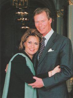 duc Henri et duchesse marie Teresa